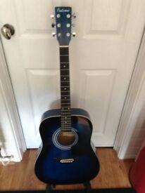 Full size acoustic guitarv