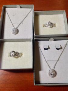 2 Diamond Necklaces