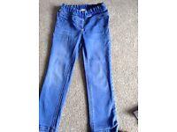 Girls jeans next 4-5 hardly worn