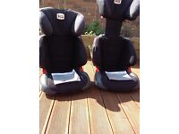 Pair Britax Romer Adventure car seats