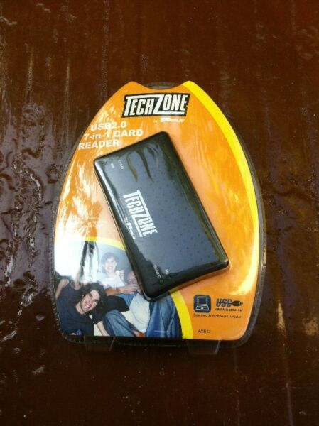 Brand new and never used before Techzone 7 in 1 card reader.