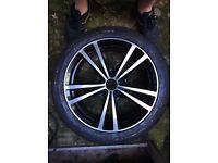 BMW E90/E92 3 series 17 alloy wheels with Nanking winter tyres