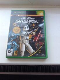Star Wars Battlefront 2 Ultra Rare XBOX Original Game