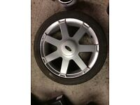 Ford Fiesta 16 inch alloy wheel