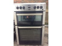 Beko dual fuel free standing cooker gas hob electric oven can deliver in brighton