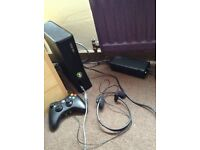 Xbox 360 Slim 4GB with games and extras