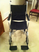 IMMACULATE DRIVE TRANSPORT WHEELCHAIR (like new)