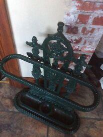 Antique original heavy old stick /umbrella stand