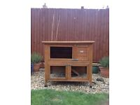 Rabbit/Guinea pig double hutch