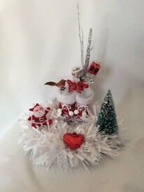 Christmas wreaths flowers