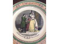 "Vintage ""Criers of London"" Decorative plate."