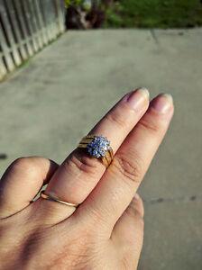 Engagement/wedding set