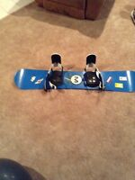 Liquid Murcury snowboard with boots good condition