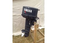 30 hp Yamaha outboard boat motor