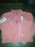 zip up Adidas sweater size M woman's