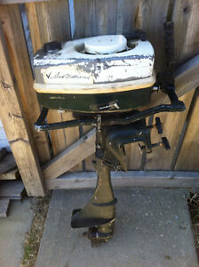 Sears Ted Williams Special 7.5 hp air cooled outboard motor