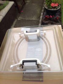 Caravan or motorhome rooflight