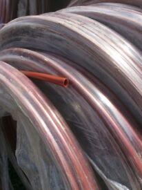 New unused 100 ft of half inch plastic tubing