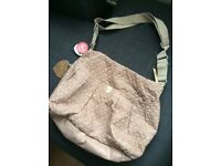 Babymel gold amanda quilted changing bag (new condition)