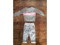 Baby girl Adidas tracksuit age 18-24 months