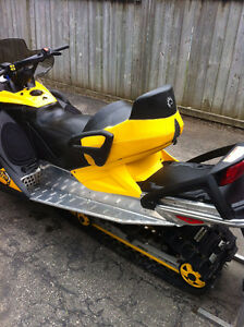 BRP 1+1 Passenger Seat System Mint Condition (Black/Yellow)