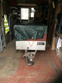 Trailer for sale five ft x three ft x two ft six inches deep jockey wheel and cover