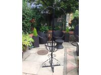 Hanging basket stand £45
