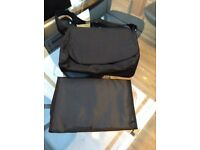 New black baby changing bag