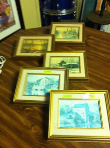 5 FRAMED KIERSTEAD PRINTS Kingston Kingston Area image 1
