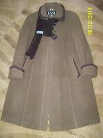 Women's autumn/spring light brown coat, medium size