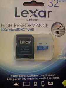32GB SD CARD - High Speed - 4K Compatible - Brand New London Ontario image 1