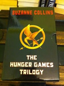 The Hunger Games trilogy book box set