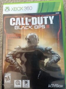 Xbox 360 call of duty black ops 3 game