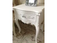 French bedside cabinet/ table