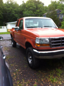 Ford  F150 xlt Step Side model Flairside KING CAB 4x4