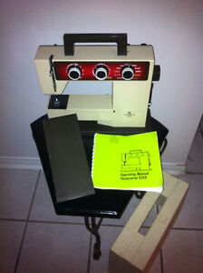 Husqvarna 5310 Sewing Machine with Case & Instruction Manual