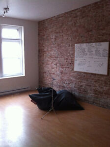 Beautiful live-in office space directly on St Laurent blvd