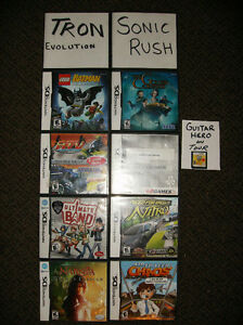 Gently Used Various Nintendo DS Games (good working condition)