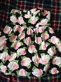 Flowery dress size 18