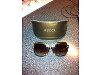 Ladies 100% Genuine GUCCI Sunglasses bought from HOF for £219 Last Year FREE P&P Great for Christmas