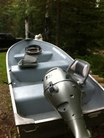 2008 Lund Fishing Boat with Motor and Trailer