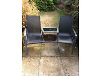 Love seat, garden furniture