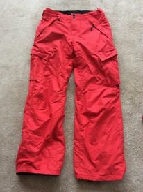 O'Neill snowboarding/skiing trousers Size 164