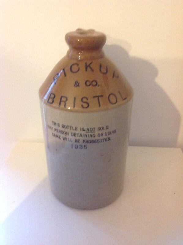 Stoneware Flagon - Pickup&co Bristol 1935