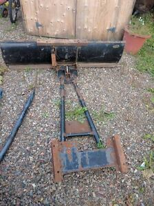 plow for 4 wheeler or garden tractor
