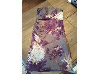 Silk Monsoon dress -size 8