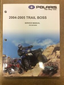 POLARIS TRAIL BOSS SHOP MANUAL Edmonton Edmonton Area image 1