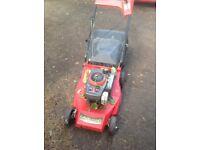 Petrol mower lawn king