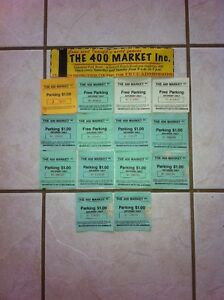 Collectible Parking Vouchers for 400 Market Innisfil