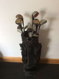 Various used clubs